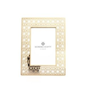 Kendra Scott Filigree Frame in Gold