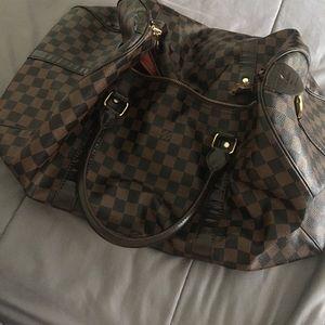 Louis Vuitton Damier duffel bag