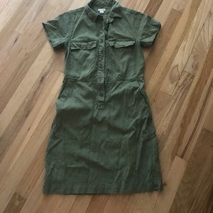 J.crew factory lyocell shirt dress