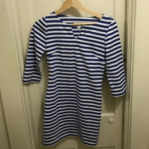 Forever 21 Blue and White Stripped Dress