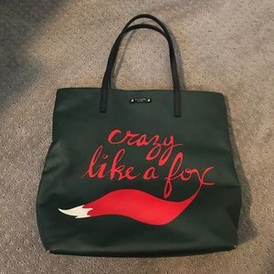 Kate Spade Crazy Like a Fox Tote Bag