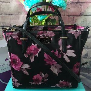 Kate Spade Alyse Wilson Road Rose Crossbody Bag