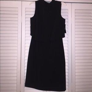 Black sleeveless dress
