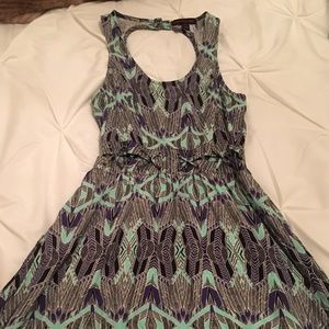 MATERIAL GIRL CUT OUT PATTERN DRESS SIZE XS