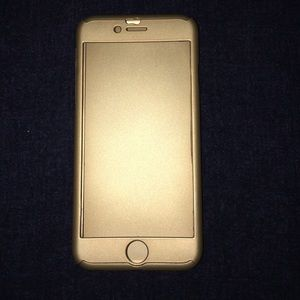 Gold iPhone case IPHONE6s