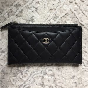 CHANEL pouch wallet