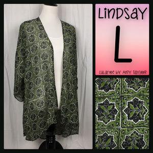 NWT LuLaRoe Lindsay Kimono - L