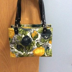 Kate Spade flowered satchel