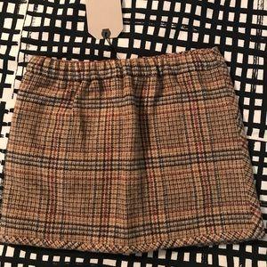 dbce6c604c Zara Bottoms | Kids Girls Super Cute Checkered Print Skirt | Poshmark