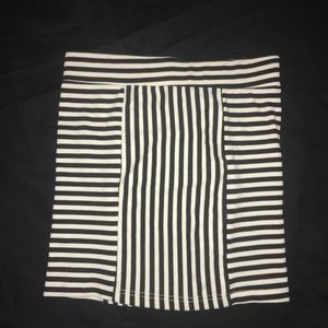 Mink Pink Mini Skirt Urban Outfitters Striped SM