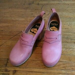 Swedish Hasbeens Bubblegum Loafers - 39