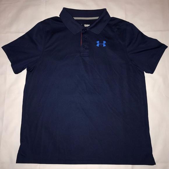 7d3f6b8d8 Under Armour Shirts & Tops | Ua Match Play Boys Polo Shirt | Poshmark