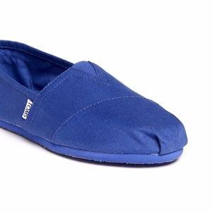 Toms Classic in Cobalt Earthwise - NTW