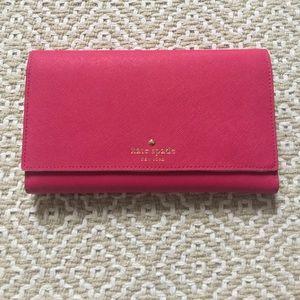 Kate Spade large travel wallet