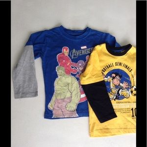 Other - Long sleeve kids tshirts. 2 pieces. Size 5
