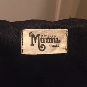 Show Me Your Mumu little black dress beautiful!!