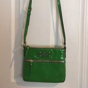 Gorgeous Kate Spade Patent Green Crossbody  Bag