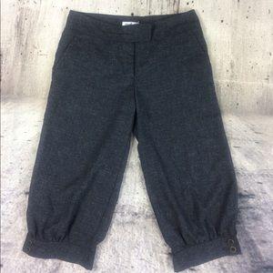 Isaac Mizrahi for target cropped pants