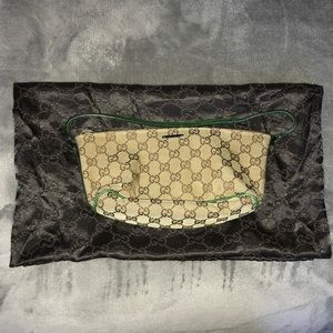 Genuine Gucci Logo Shoulder Bag