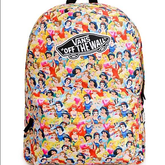 ce97442a8a Vans Disney Princess BackPack. M 59ee10ba99086a519f0d69ed