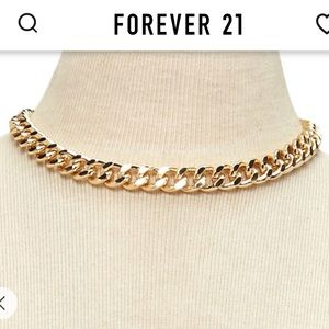 F21 Gold Chain Necklace
