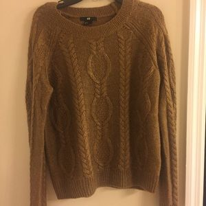 Cozy camel colored sweater by HM