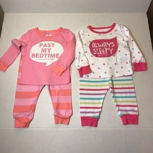 The Children's Place Girl's Pajamas 3-6 M