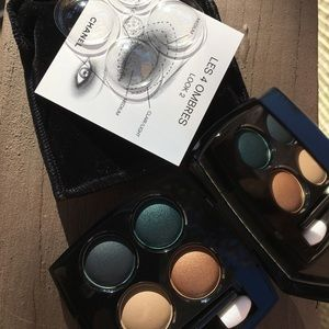 Chanel 4 eyeshadow collection