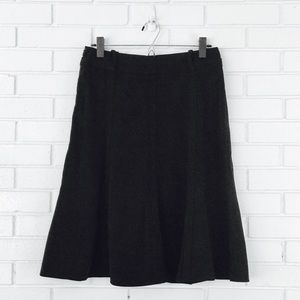 6 for $25! Larry Levine Black Flare Trumpet Skirt