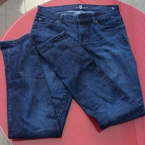 Denim - 7 for all mankind jean straight leg
