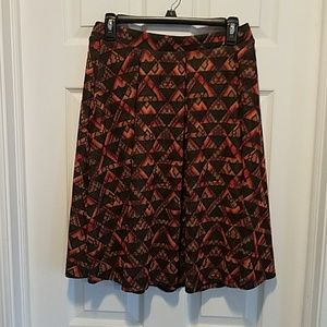 Lularoe Fall Colors Madison Size Medium
