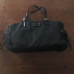Kate Spade Black Nylon Stevie Bag