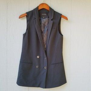 Banana Republic Navy Double Breasted Blazer Vest 2