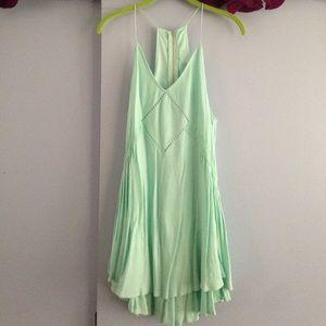 Altar'd State sea foam green dress