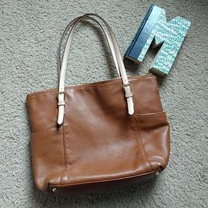 Michael KORS buttery leather tote