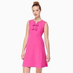 Kate Spade Kite Bow Crepe Dress