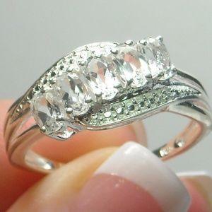 NWT Natural Topaz Ring