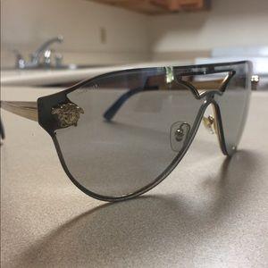 Authentic Versace Pilot Sunglasses