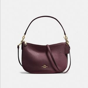Chelsea Crossbody In Polished Pebbled leather