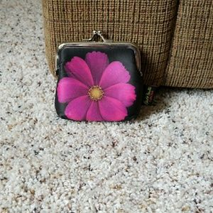 Small flower coin purse
