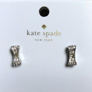 Kate Spade Ready Set Bow earrings NWT
