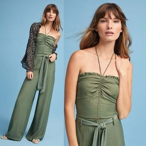 New Anthropologie MAEVE Sunset View Halter Top NWT