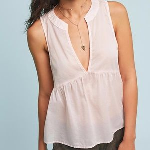 NWT Cloth and Stone Anthropologie Selena Top