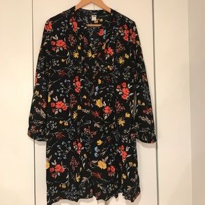 Floral and flirty Old Navy swing dress