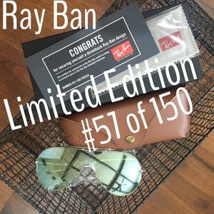 Ray Ban Wings limited Edition only 150 made NWT