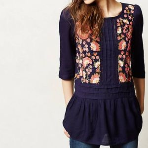 Anthropologie Luana Blouse by Floreat Size 6