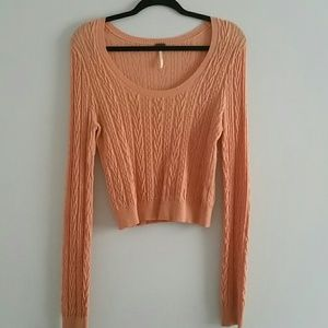 Free people crewneck sweater
