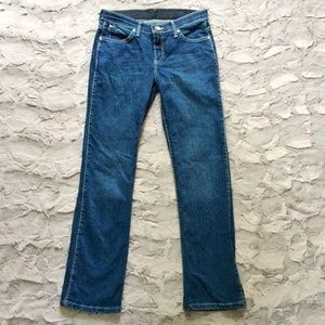 Wrangler Q-Baby No GAP Waistsband high rise Jeans