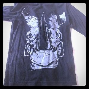 Long sleeve Rhino shirt