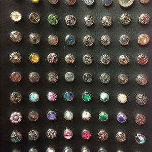 12mm SNAPS That FIT RINGS  and EARRINGS